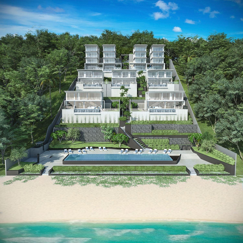 Stylish 3-bed Modern Beachfront Villa with Pool in Ao Yon, Cape Panwa