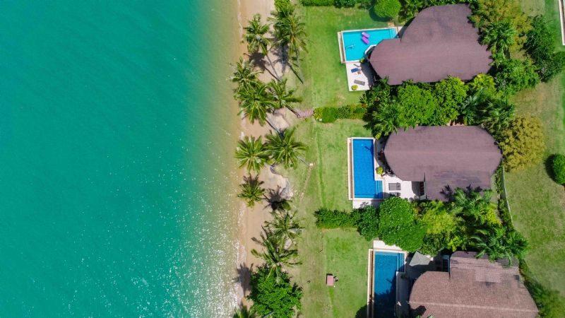 4 Bed Beachfront Pool Villa Coconut Island for Sale