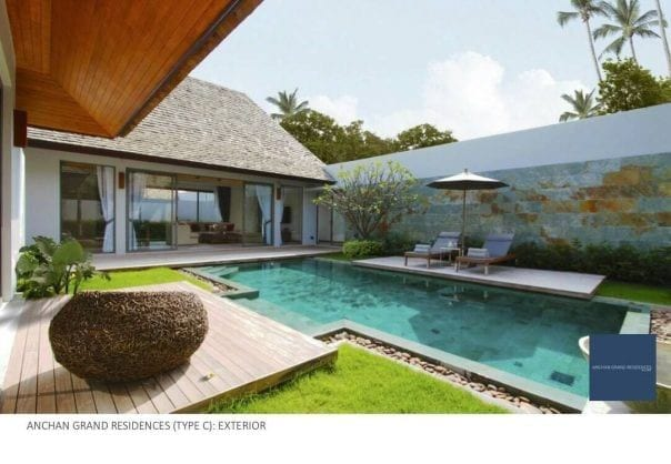 Luxury 3 Bed Anchan Pool Villa (new) Type C, Layan