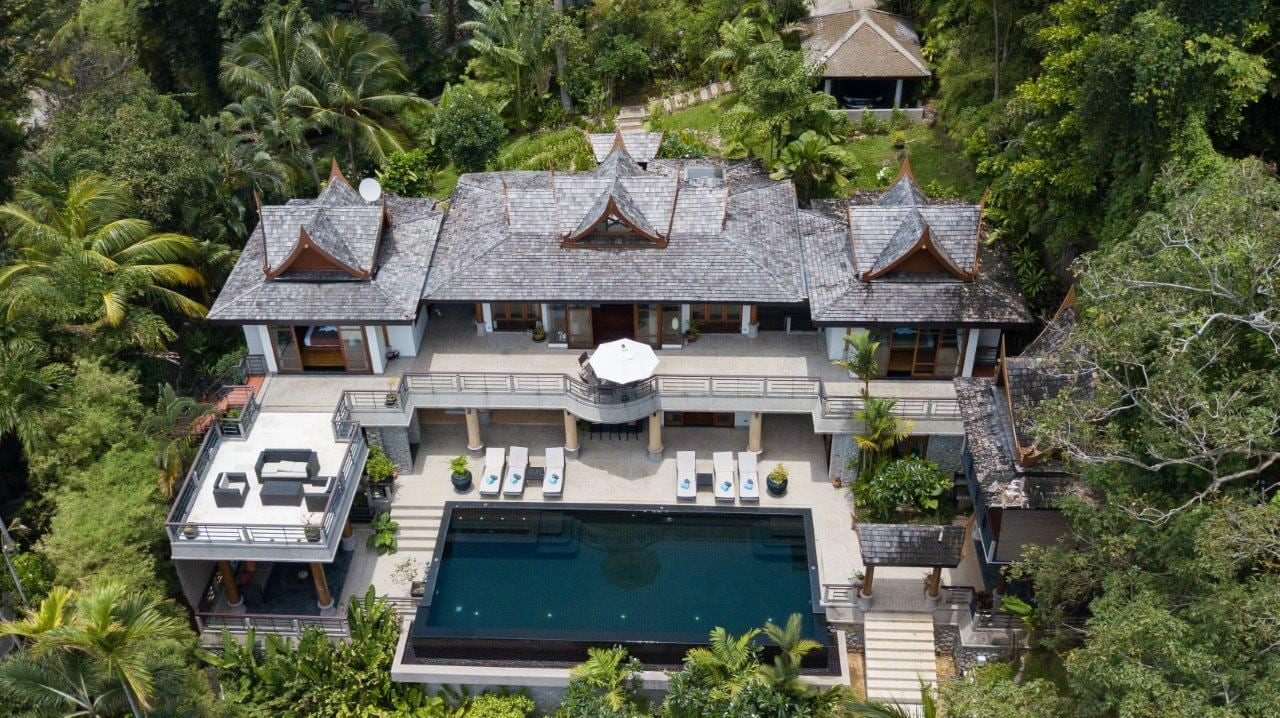 Modern 5 Bed Sea View Villa, Phuket