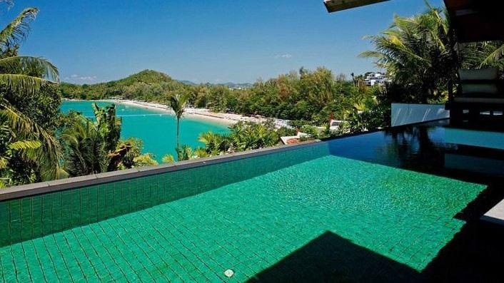 Waterfront Sea View Villa, Surin
