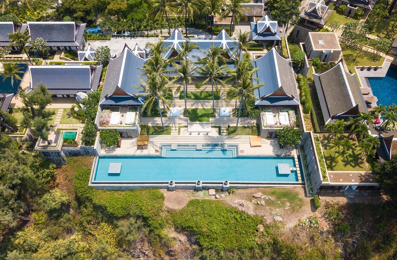 Super Villa  Sea View Estate, 7 beds, Kamala
