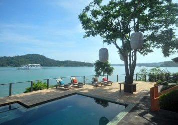 Ocean Waterfront Private Villa for Sale