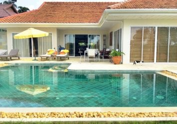 Elevated Sea View Pool Villa with Gardens