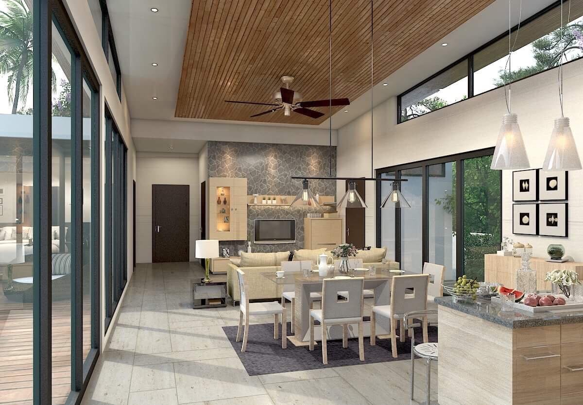 Charismatic Luxury 3 bed Pool Villa, non-estate, Layan, Phuket
