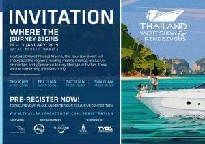 Asia360 Phuket Thailand Yacht Show 2019